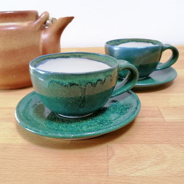 Teetasse magic green