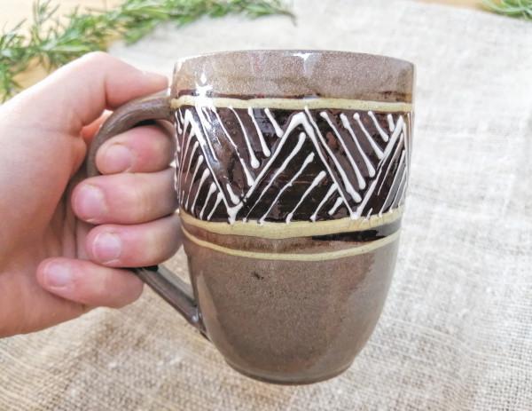Kaffeetasse braun