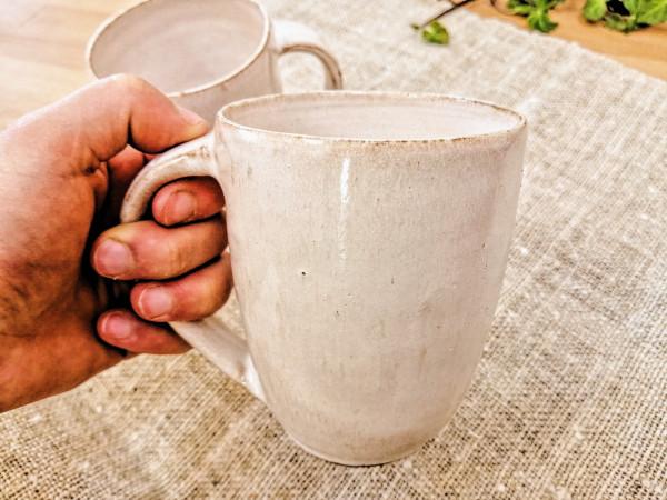 Kaffeetasse cremeweiß