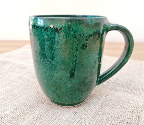 Kaffeetasse XL magic green
