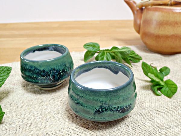 Teeschale 150ml magic green