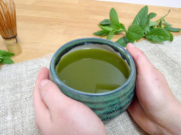 Teeschale 500ml magic green